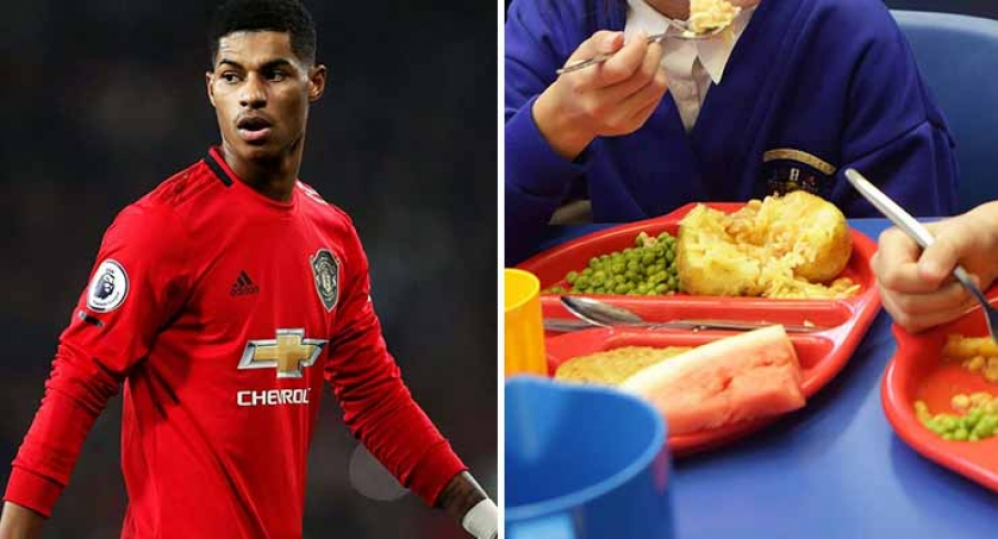 Marcus Rashford's free school meals campaign receives growing support